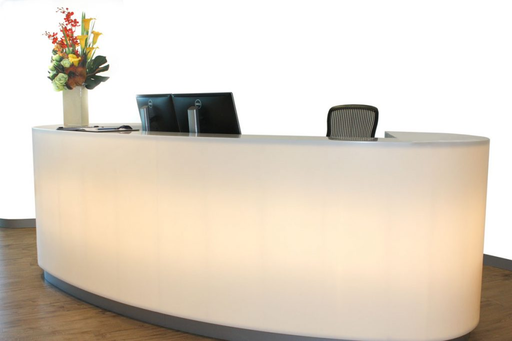 Reception Desk Sydney Apex Lite Reception 2400